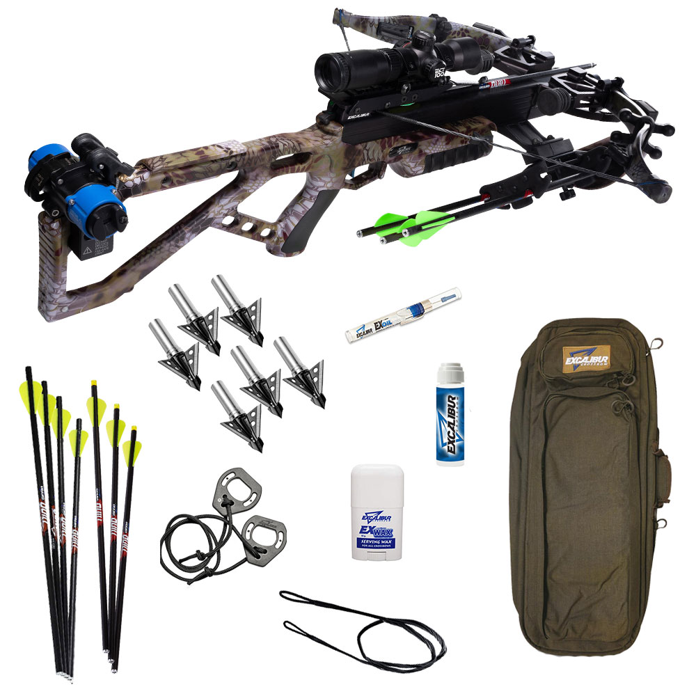 Excalibur Micro 360 Pro Crossbow Package in Kryptek Altitude
