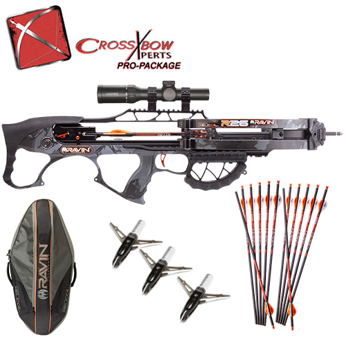 ravin r26 crossbow pro hunting package