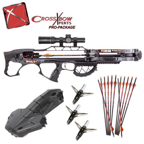 best ravin r29 crossbow hunting package value