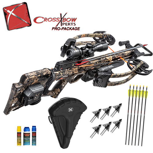 wicked ridge rdx400 crossbow hunting package