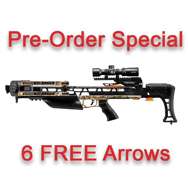 mission sub-1 lite pre order six free arrows