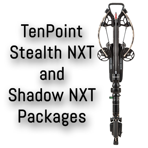 Ten Point Shadow and Stealth NXT Crossbow Packages