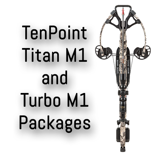 TenPoint Turbo and Titan M1 Crossbow Packages