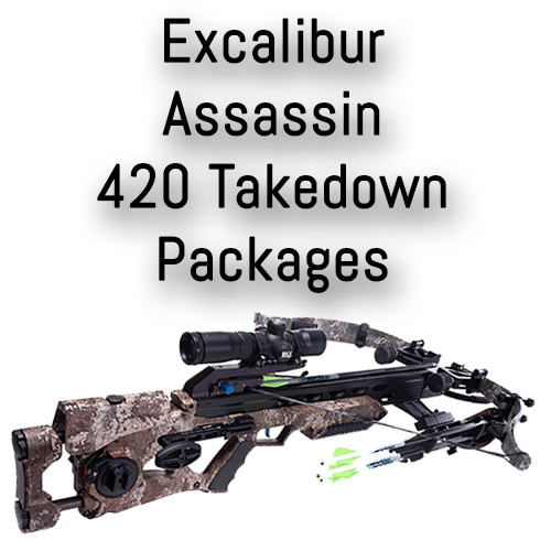 Excalibur Assassin 420 Takedown Crossbow Packages