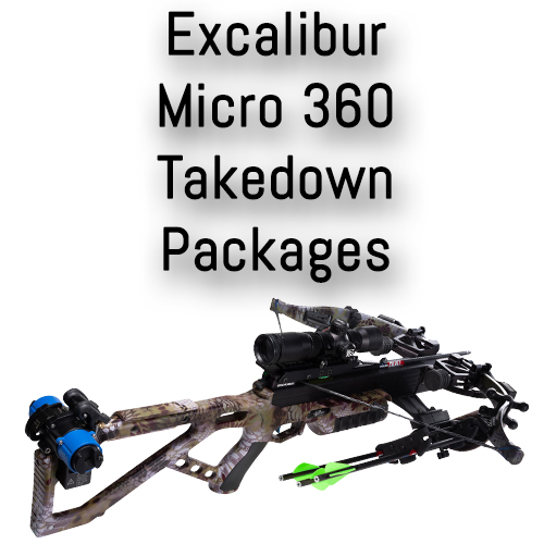 Excalibur Micro 360 Takedown Pro Crossbow Packages