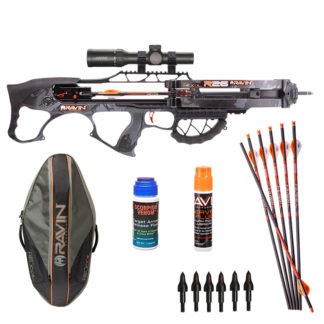 Ravin R26 with Hawke XB30, Extra Arrows, Maintenance Kits, Case and more!