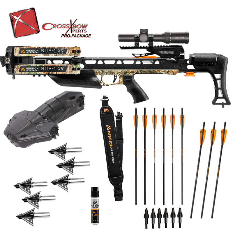 Mission Sub-1 XR Crossbow Experts Platinum Package