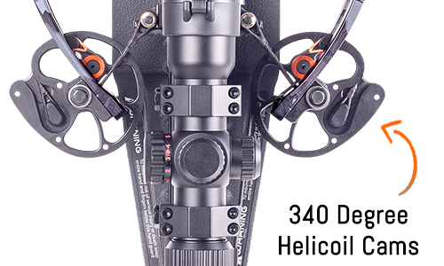 Ravin Crossbow Helicoil Cam System