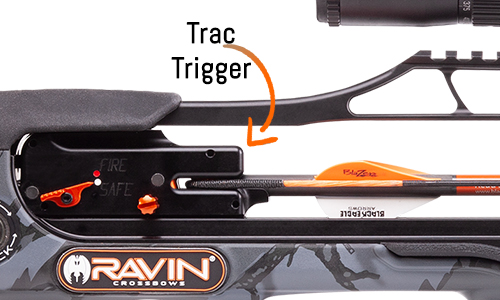 Ravin Trac Trigger firing system