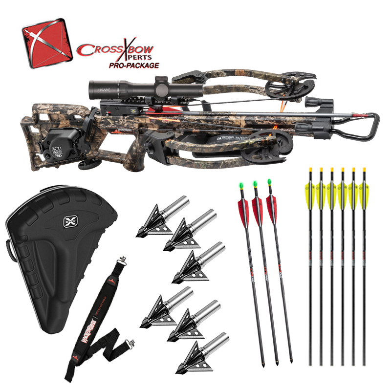 RDX400 ACudraw Pro Fully Assembled with Hard Case, Choice of Broadheads, Lighted Arrows and more!