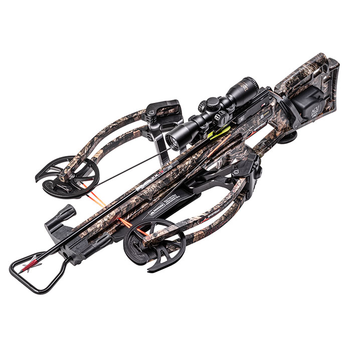 alternate angle of the rdx400 crossbow from wicked ridge
