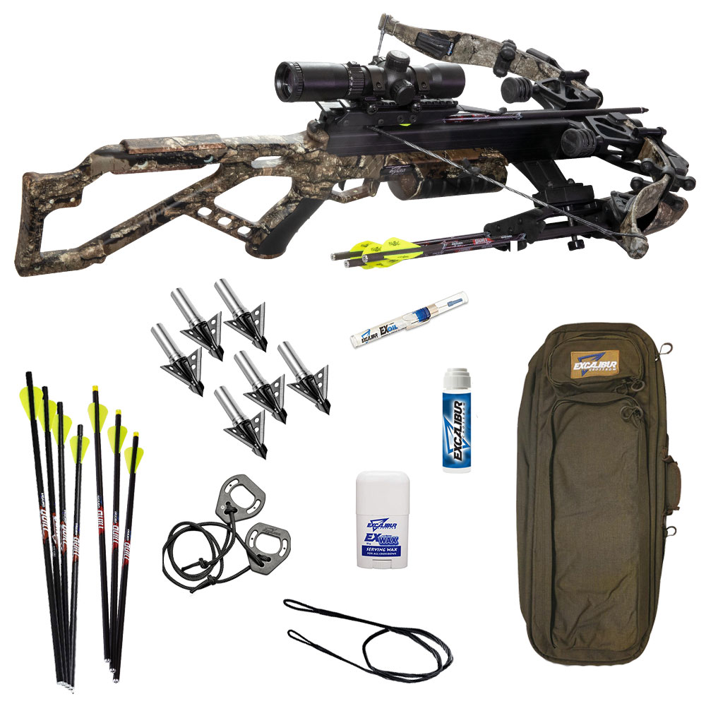 Excalibur micro 340 takedown pro crossbow package