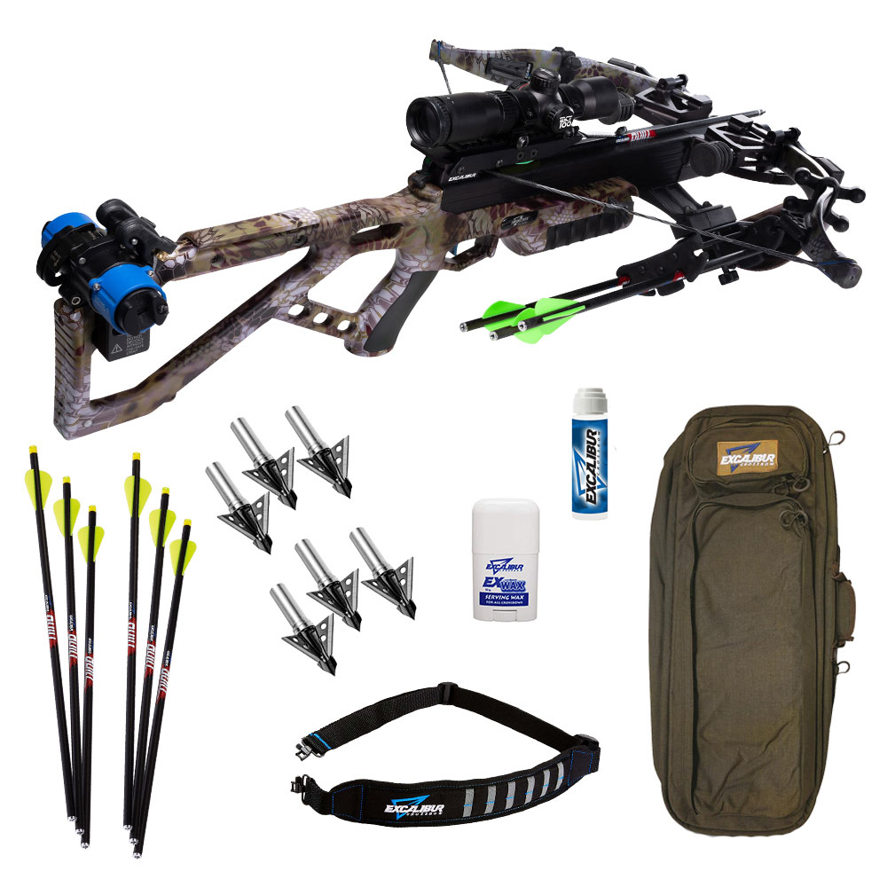 Excalibur Micro 360 Takedown Hunter Crossbow Package