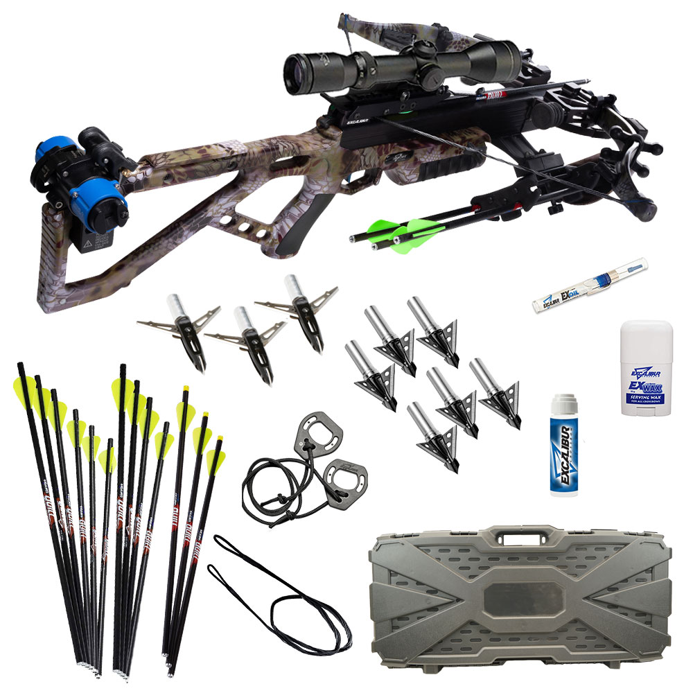 Excalibur Micro 360 Takedown Pro Crossbow Fully assembled package