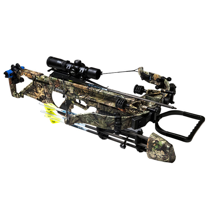 Excalibur Micro Suppressor 400 Takedown with High Output Limbs and Charger Crank