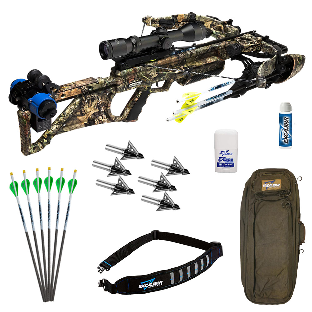 Excalibur Micro Suppressor 400 TD Hunter Crossbow package