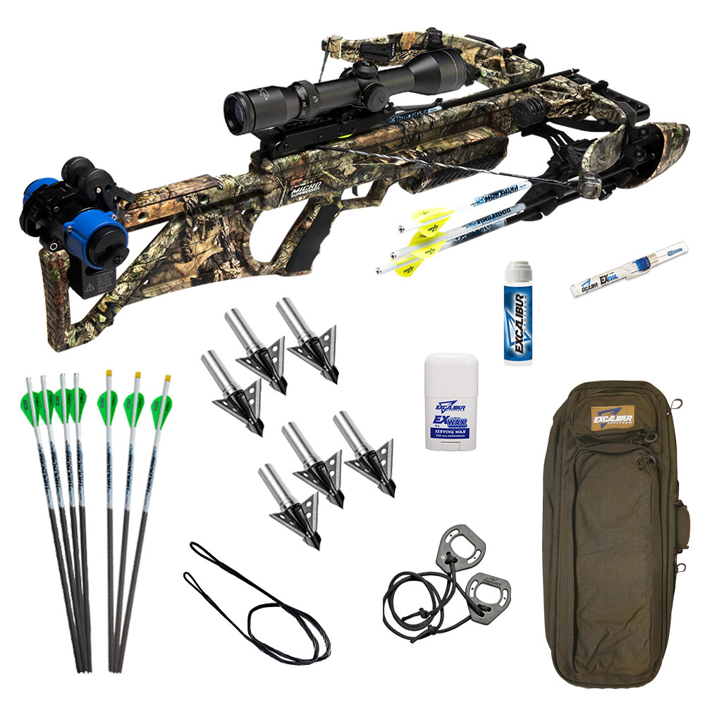 Excalibur Suppressor 400 Takedown Crossbow Pro Package in MOBUC