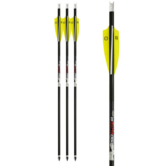 Ten Point pro elite 400gr 3 pack crossbow arrows