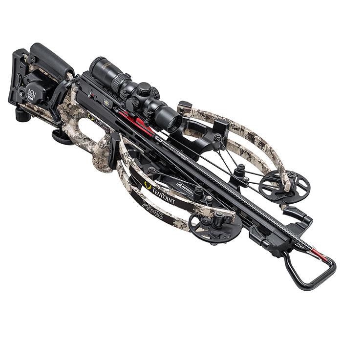 tenpoint xr410 crossbow facing forward