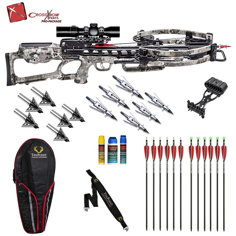tenpoint viper s400 hunting package